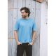 100% Hemp Eco T-shirt Blue 'Verano'