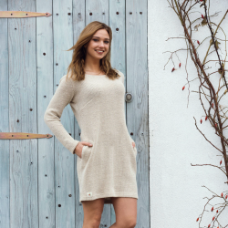 100% Organic hemp Dress pure hemp eco style