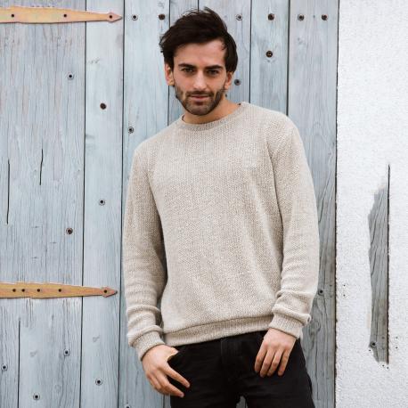 100% hemp Sweater Hemplution Classic , vegan style, without logo