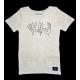 100% Hanf Fairtrade T-Shirt mit coolem Siebdruck aus Deutschland