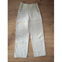 Natural white hemp pants from Luzifer size m