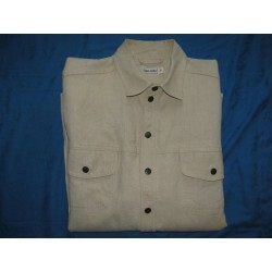 HESS NATUR hemp shirt XL Longsleeve natural pure hemp