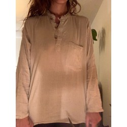 100% hemp top from Nepal size M