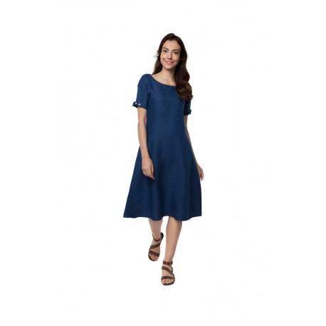 100% hemp Twilight Calf Length Dress size M
