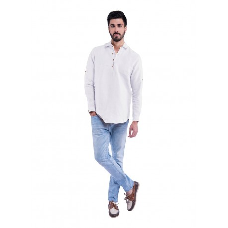 100% hemp Fusion Sativa 188 Shirt size M from India