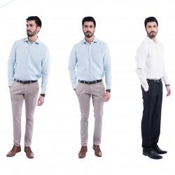 """100% Hanf Formelles """"Sativa 188"""" Hemd Größe S Dunkelgrau aus Indien"""