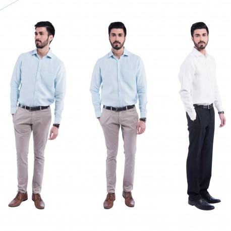 100% hemp Formal Sativa 188 Shirt size S from India