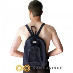 Mini Zippered Hemp Backpack