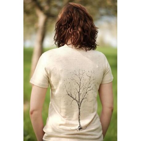 100% Hanf T-Shirt feminin