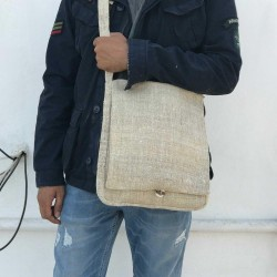 100% Hemp Messenger Bag