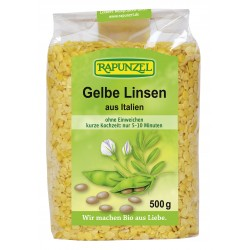 Yellow Lintelles from Italy 500g