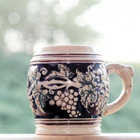 Cup set 'Grapevines on holiday'