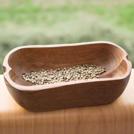 Handmade wooden bowl of teak wood 'Bathtub of harmony'