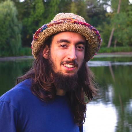 Hemp hat 'Crown of imagination'