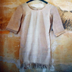 Little bohemian 100% hemp dress 'Queen of the flux'