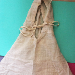 100% hemp baby Poncho from nepal 'Destiny'
