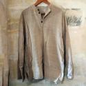 100% hemp long-sleeve top from nepal