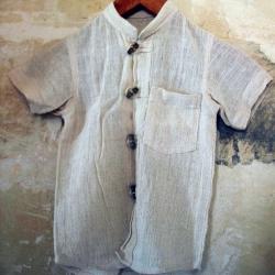 100% Hanf Hemd für Jungen