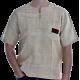 CANNABIS CLUB T-Shirt Größe L 100 % Hanf natur