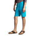 100% hemp: Evanescent Shorts Teal with Patch Pocket