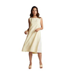 100% hemp Pinwheel Sleeveless Dress